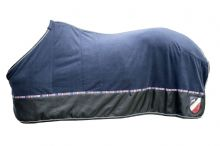 HKM INTERNATIONAL NAVY FLEECE RUG - SALE